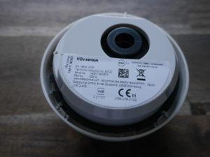 Rückseite des Detectomat HdV Sensys ohne Montageplatte