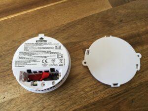 First-Alert-Montageplatte-Rückseite