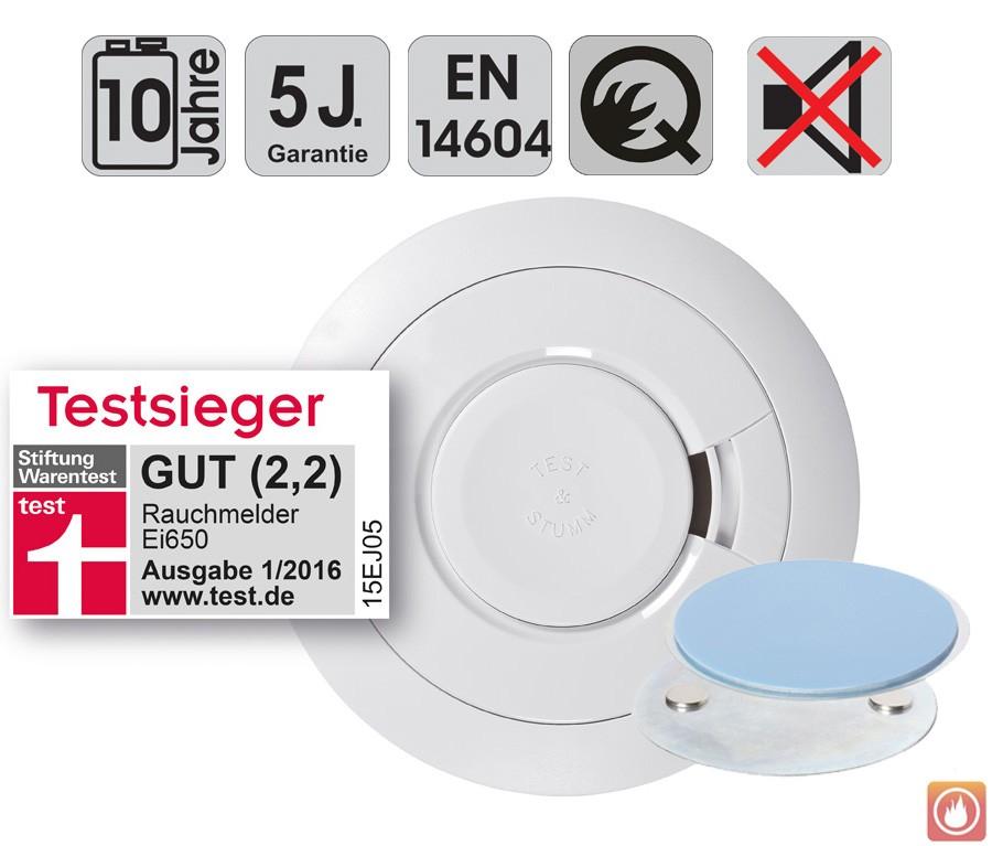 Rauchmelder EI Electronics Ei650 Mit