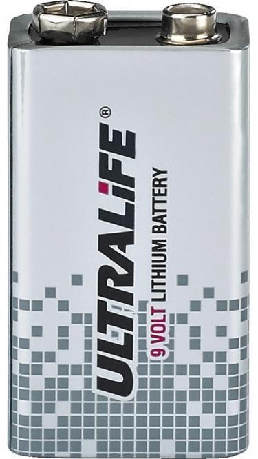 Diverse Ultralife Batterie 9V Lithium C-Ultralife9V