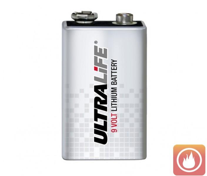 Ultralife Lithium Batterie - bis zu 10 Jahre Laufzeit